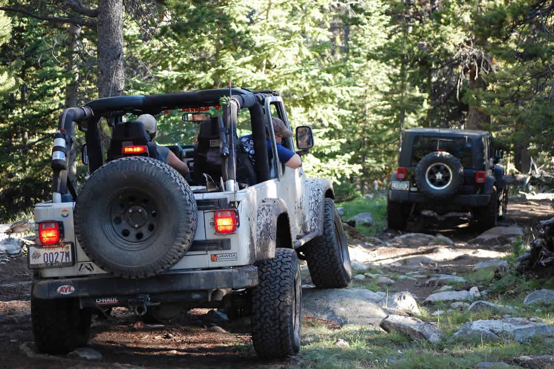 In our open air jeeps you will climb trails and backroads, taking a thrilling ride through intimate parts of Montana